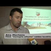 "Embedded thumbnail for PSIA ""Ventspils siltums"" aktualitātes (08.10.2014.)"